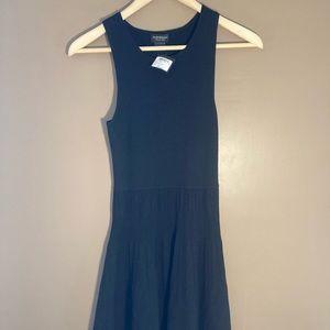 NWT Club Monaco black Italian yarn dress